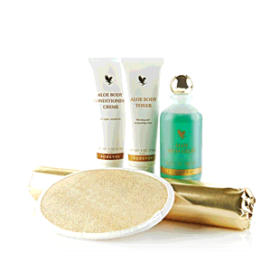 COFFRET SOIN DU CORPS ALOES - Ref 55 - Nutrilife Experts - Forever Living - Aloe Vera 1